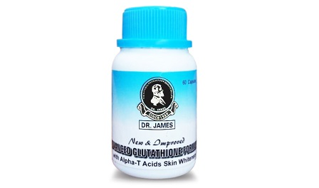 dr james glutathione pills